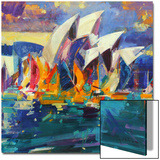 Sydney Flying Colours, 2012 Art by Peter Graham