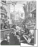 Gin Lane, 1751 Posters by William Hogarth
