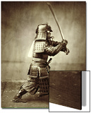 Samurai with Raised Sword, circa 1860 Poster by Felice Beato