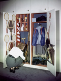 Specialized Closets Created by Architects George Nelson and Henry Wright, New York, NY 1945 Photographic Print by Herbert Gehr