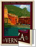 Vernazza Italian Riviera 1 Prints by Anna Siena