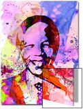 Nelson Mandela Watercolor Prints by Anna Malkin