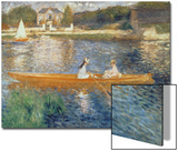 Boating on the Seine, c.1879 Art by Pierre-Auguste Renoir
