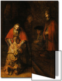 Return of the Prodigal Son, c. 1669 Prints