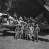 An 88th Flight Squadron Crew on the Ledo Road, Burma, 1944 Photographic Print by Bernard Hoffman