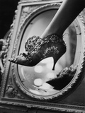 Evening Boot Designed by Roger Vivier for Dior, 1961 Photographic Print by Paul Schutzer