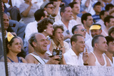 August 25, 1960: Spectators at the 1960 Rome Olympics' Opening Ceremony Photographic Print by Mark Kauffman