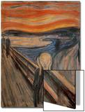 Der Schrei, 1893 Kunstdrucke von Edvard Munch