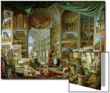 Gallery of Views of Ancient Rome, 1758 Posters by Giovanni Paolo Pannini