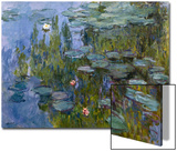 Water Lilies (Nympheas), 1918/1921 Print by Claude Monet