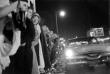 Fans Stargazing During Arrival of Celebrities, 30th Academy Awards, Rko Pantages Theater, 1958 Photographic Print by Ralph Crane