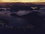 1957: Aerial View of Rio De Janeiro, Brazil Photographic Print by Dmitri Kessel