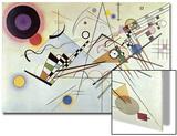 Composition Number 8, 1923 Láminas por Wassily Kandinsky