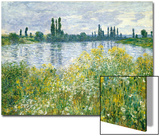 Banks of the Seine, Vetheuil, 1880 Prints by Claude Monet