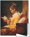 Young Girl Reading, about 1776 Poster von Jean-Honoré Fragonard