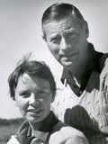 Dr. Edmund Goodman and His Wife, Long Island, NY, 1951 Photographic Print by Alfred Eisenstaedt