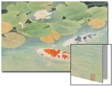 A Couple Under Lotus (II) Affiches par Chingkuen Chen