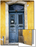 Doorway in Old Venetian Quarter, Hania, Crete, Greece Art by Diana Mayfield