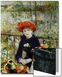 Two Sisters, or on the Terrace, 1881 Affischer av Pierre-Auguste Renoir