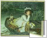 Young Woman in a Boat, or Reflections, circa 1870 Prints by James Tissot