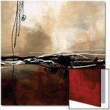 Symphonie en rouge et kaki I Affiches par Laurie Maitland