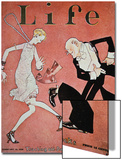 Dancing the Charleston During the 'Roaring Twenties', Cover of Life Magazine, 18th February, 1928 Poster
