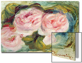 The Three Roses Prints by Pierre-Auguste Renoir