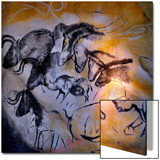 Animals and Birds, Chauvet-Pont-D'Arc Cave, Ardeche Print