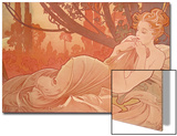 Dusk (Crepuscule), 1899 Prints by Alphonse Mucha