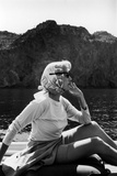 Portrait of Clare Boothe Luce in Majorca, Spain, 1962 Photographic Print by Alfred Eisenstaedt