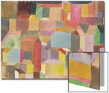Medieval Town, 1915 Kunstdruck von Paul Klee