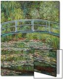 Japanische Bruecke, 1899 Láminas por Claude Monet