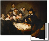 The Anatomy Lesson of Dr. Nicolaes Tulp Poster by  Rembrandt van Rijn