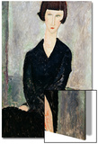 Woman in Black Dress Prints by Amedeo Modigliani