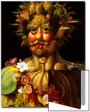 Surreal Portrait of Emperor Rudolf II, 1590 Prints by Giuseppe Arcimboldo