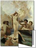 The Birth of Venus, 1879 Posters par William Adolphe Bouguereau