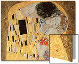 The Kiss, 1907-08 Posters by Gustav Klimt