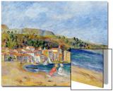 Le Lavandou Poster by Pierre-Auguste Renoir