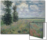 The Poppy Field Prints by Claude Monet