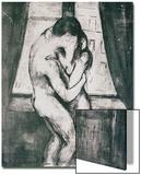 The Kiss, 1895 Poster von Edvard Munch