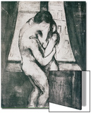 The Kiss, 1895 Pósters por Edvard Munch