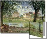 Villeneuve-La-Garenne, 1872 Print by Alfred Sisley