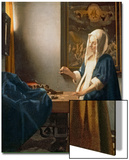Woman Holding a Balance, circa 1664 Posters by Jan Vermeer