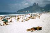1957: Copacabana Beach, Rio De Janeiro, Brazil Photographic Print by Dmitri Kessel