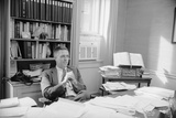 Senator James Lane Buckley Seated at His Desk, 1970 Photographic Print by Alfred Eisenstaedt