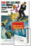 """007, James Bond: On Her Majesty's Secret Service"" 1969, Directed by Peter Hunt Poster"