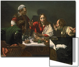 The Supper at Emmaus, 1601 Posters by  Caravaggio