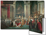 Consecration of the Emperor Napoleon and Coronation of Empress Josephine, 2nd December 1804, 1806-7 Prints by Jacques-Louis David