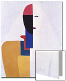 Female Torso, no.2 Prints by Kasimir Malevich