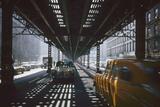 Traffic Along Third Avenue, New York, New York, 1955 Photographic Print by Eliot Elisofon